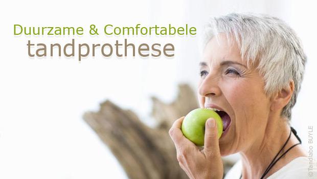 duurzame en comfortabele tandprothese